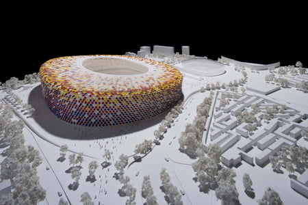 FC Barcelona have unveiled the design of their new Camp Nou stadium by Foster + Partners.
