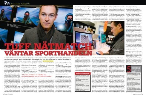 Ronnestam in Sportfack November