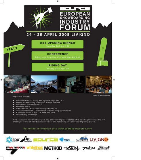 I'll be in Livigno this weekend