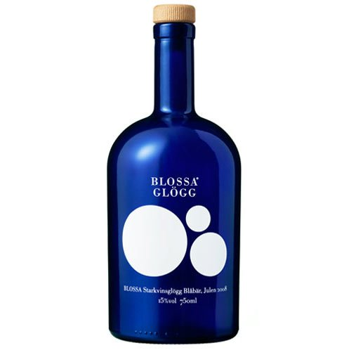 The new Blossa Glögg bottle