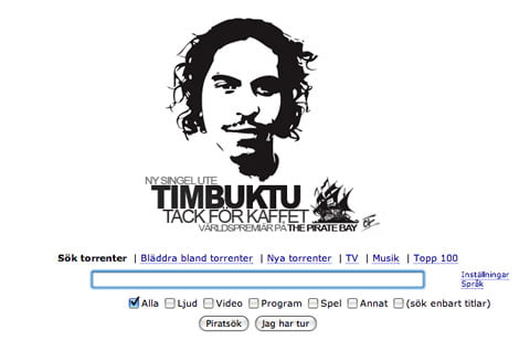 Swedish artists Timbuktu launches new song with Dregen on Pirate Bay