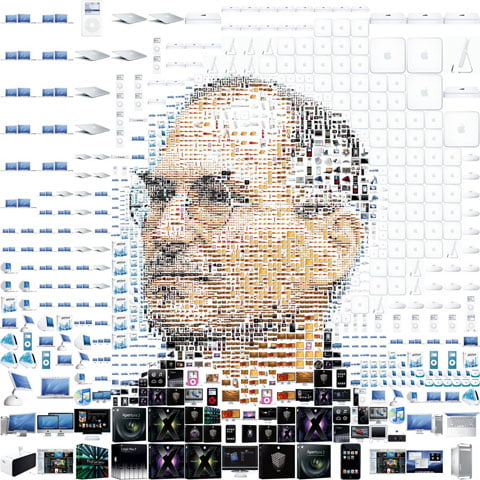One link for the English guys och en för svenskar – and they're both about Steve Jobs