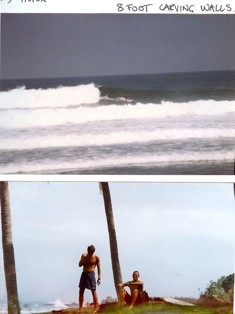 I miss surfing.