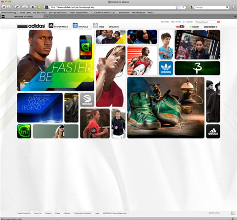 The adidas global site