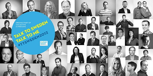 Putting Sweden on the map at LeWeb 2012