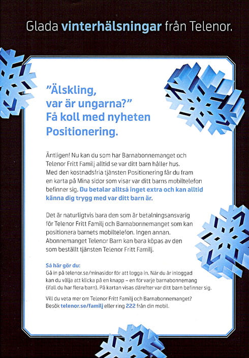 Telenor Positioning