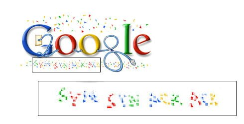 Google celebrates the internet
