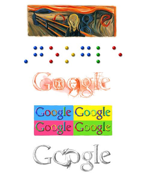 Google logo favorites