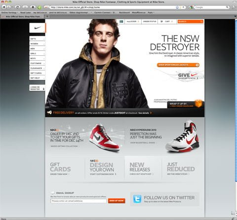 The Nike Store