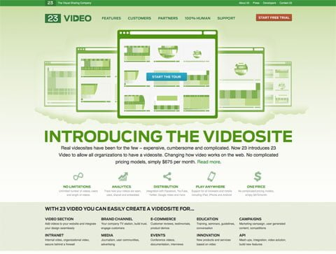Video 23 the Video Hosting Site