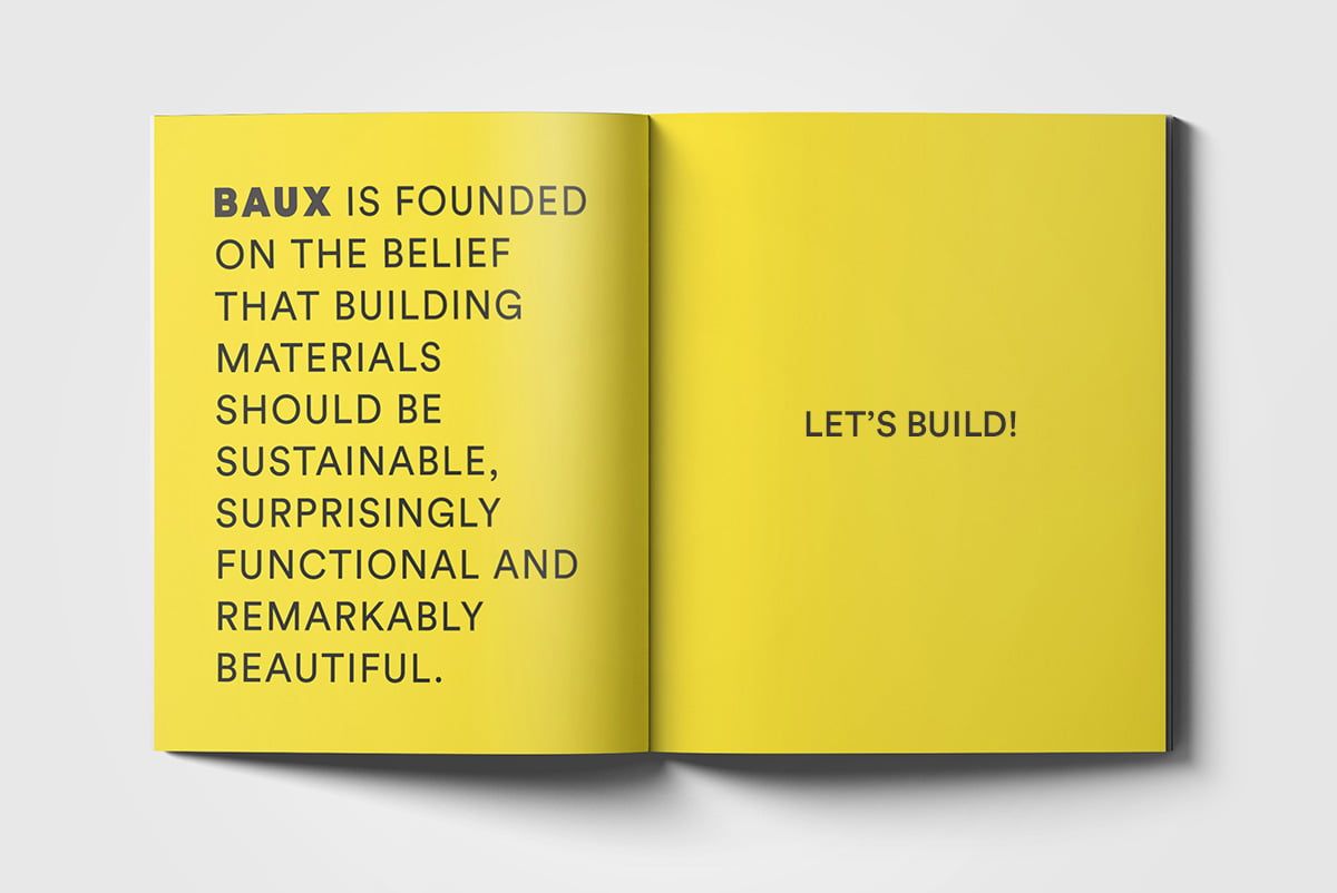 Case: The branding and launch of BAUX Acoustic Pulp